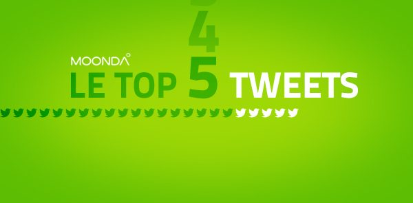 07 06 2013 Top Tweets Com' de l'Agence #MOONDA