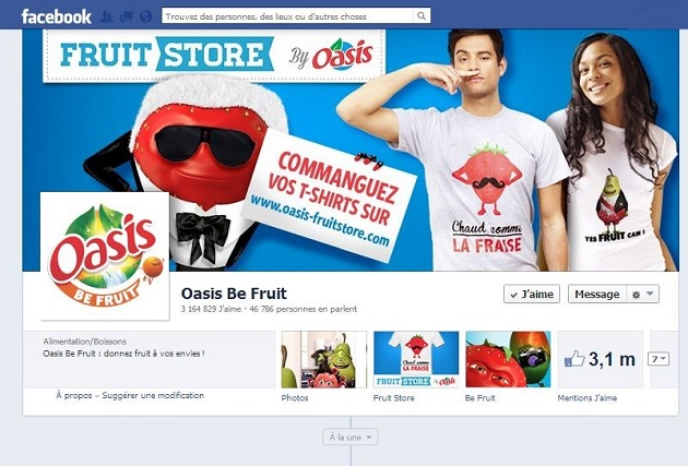 Oasis-page-facebook_Be-fruit