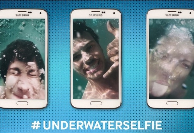 Marketing digital : Underwaterselfie by Samsung