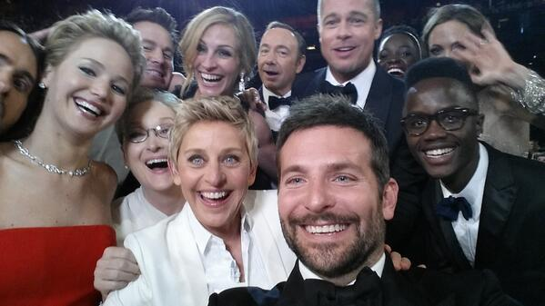 Selfie Marketing Oscars